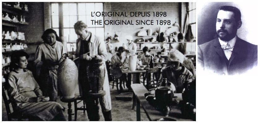 Производство Lampe Berger и сам основатель - Морис Берже