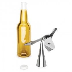 Открыватель для бутылок на подставке Tipsy хром, Umbra