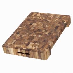 Доска разделочная торцевая butcher block 51x36 см, TeakHaus