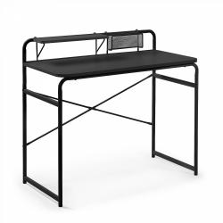 Письменный стол Foreman черный, La Forma (ex Julia Grup)