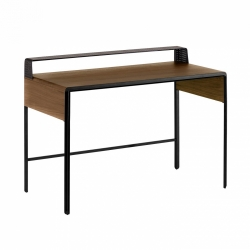 Письменный стол Nadyria 120x55 ореховый, La Forma (ex Julia Grup)