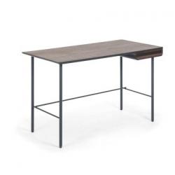 Стол письменный Mahon 120x60 ореховый шпон, La Forma (ex Julia Grup)