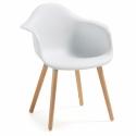 Кресло Kenna белое, La Forma (ex Julia Grup)