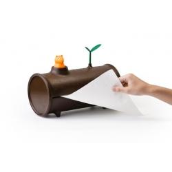 Держатель для бумажных полотенец log&roll, Qualy