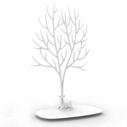 Декоративный органайзер для украшений deer большой белый, Qualy