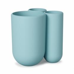 Стакан для зубных щеток Touch голубой, Umbra