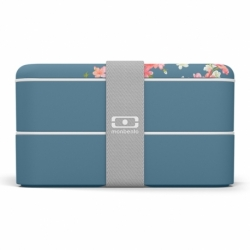 Ланч-бокс MB Original Flower mood denim, Monbento