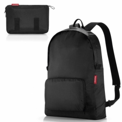 Рюкзак складной mini maxi black, Reisenthel