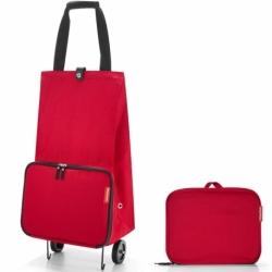 Сумка на колесиках foldabletrolley red, Reisenthel