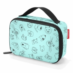 Термосумка детская Thermocase cats and dogs mint, Reisenthel