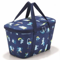 Термосумка детская coolerbag xs abc friends blue, Reisenthel