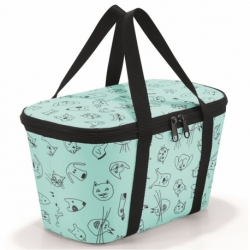 Термосумка детская coolerbag xs cats and dogs mint, Reisenthel