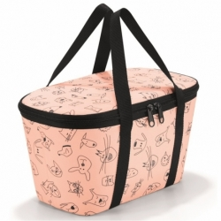 Термосумка детская coolerbag xs cats and dogs rose, Reisenthel