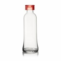 Бутылка для воды стеклянная 1 л красная, Guzzini