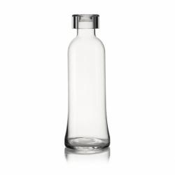 Бутылка для воды стеклянная 1 л прозрачная, Guzzini