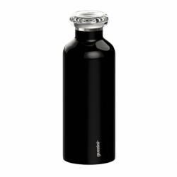 Термобутылка on the go 500 мл чёрная, Guzzini