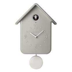 Часы с кукушкой QQ серые, Guzzini