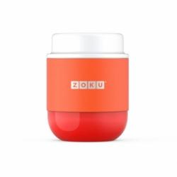 Вакуумный контейнер neat stack 295 мл оранжевый, Zoku
