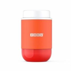 Вакуумный контейнер neat stack 475 мл оранжевый, Zoku
