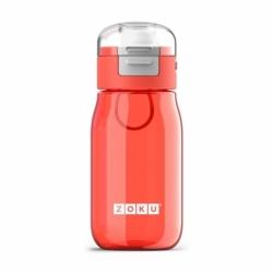 Бутылка с крышкой 475 мл красная, Zoku