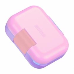 Ланч-бокс neat bento малый розовый, Zoku