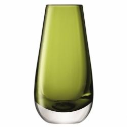 Ваза в форме бутона flower colour 14 см зелёная, LSA