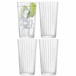 Набор из 4 стаканов для сока gio line 320 мл, LSA