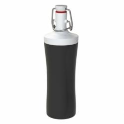 Бутылка для воды plopp to go 425 мл черная, Koziol