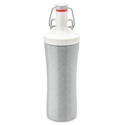 Бутылка для воды plopp to go organic 425 мл серая, Koziol