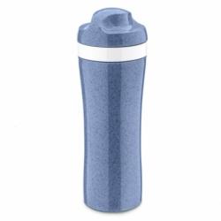 Бутылка oase organic 425 мл синяя, Koziol