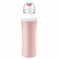 Бутылка для воды plopp to go organic 425 мл розовая, Koziol