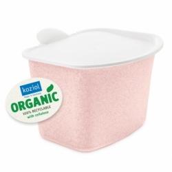 Контейнер для пищевых отходов bibo organic розовый, Koziol