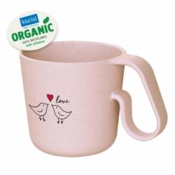 Кружка maxx bird love organic 350 мл розовый, Koziol