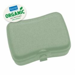 Ланч-бокс basic organic зеленый, Koziol