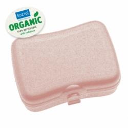 Ланч-бокс basic organic розовый, Koziol