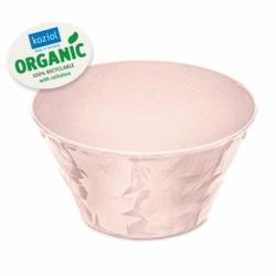 Салатница club bowl s organic 700 мл розовая, Koziol