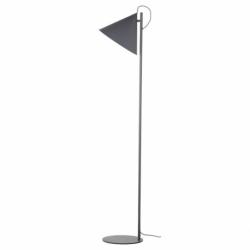 Лампа напольная Benjamin серая, Frandsen