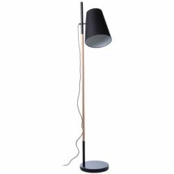Лампа напольная Hideout черная, Frandsen