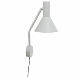 Лампа настенная Lyss светло-серая матовая, Frandsen