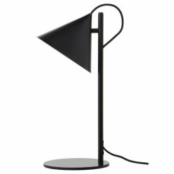 Лампа настольная Benjamin черная матовая, черный шнур, Frandsen
