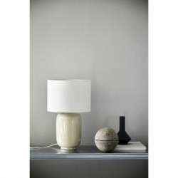 Лампа настольная Cadiz серая, Frandsen