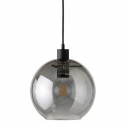 Лампа подвесная kyoto round, серая, Frandsen