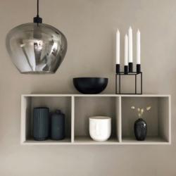 Лампа подвесная kyoto, d32 см, стекло electro plated, Frandsen