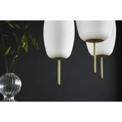Лампа подвесная silk, d22 см, белое опаловое стекло, Frandsen