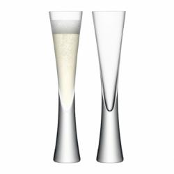 Набор из 2 бокалов-флейт Moya 170 мл прозрачный, LSA International