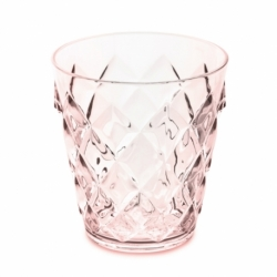 Стакан crystal s 200 мл розовый, Koziol