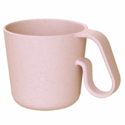 Кружка maxx organic 350 мл розовая, Koziol