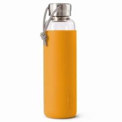 Бутылка для воды стеклянная 600 мл оранжевая, Black+Blum