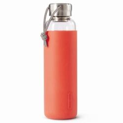 Бутылка для воды стеклянная 600 мл коралловая, Black+Blum