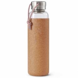 Бутылка для воды стеклянная 600 мл светло-коричневая, Black+Blum